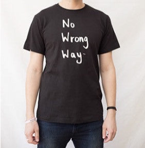 No Wrong Way Classic Black T-Shirt