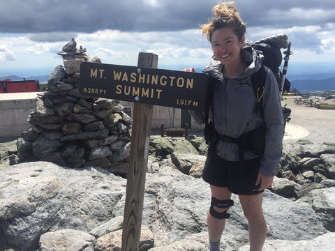 Heather Machelle on the Appalachian Trail