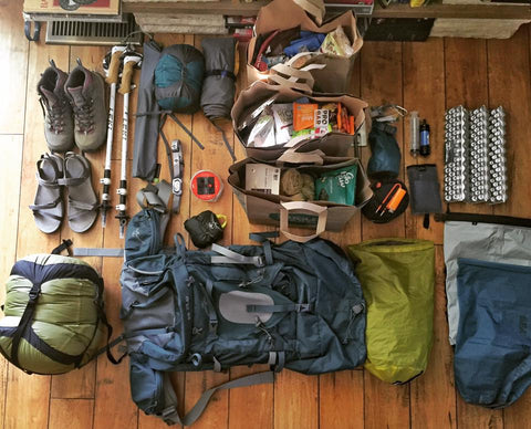 Heather Machelle on the Appalachian Trail Gear