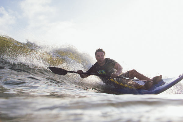 Roy Tuscany of High Fives Foundation Adaptive Surfing