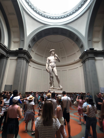 Statue of David in Galleria dell'Acacademia