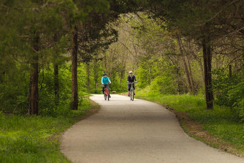 Ozark Greenways Bike Riders
