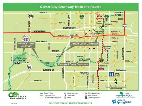 Center City Greenway Trails and Paths