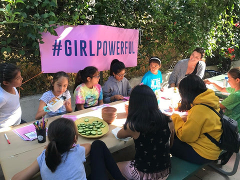Sand Sisters #GirlPowerful Workshop