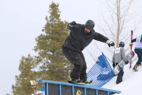Will Rivera Snowboarding