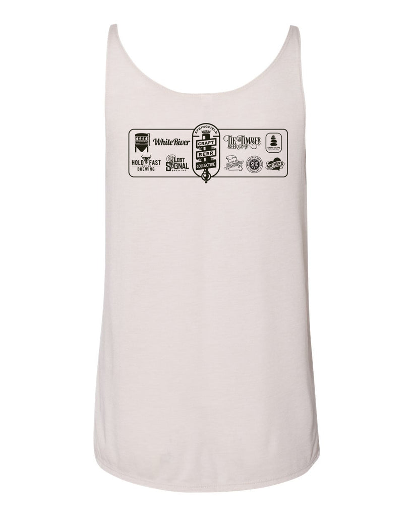 Local Strong Ladies Tank - Heather Dust