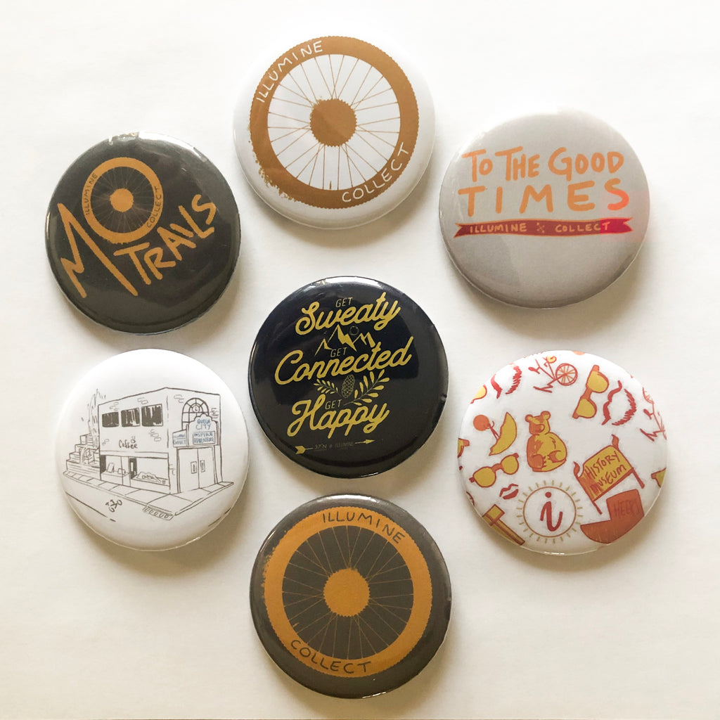 Assorted 3 Pack Of Buttons