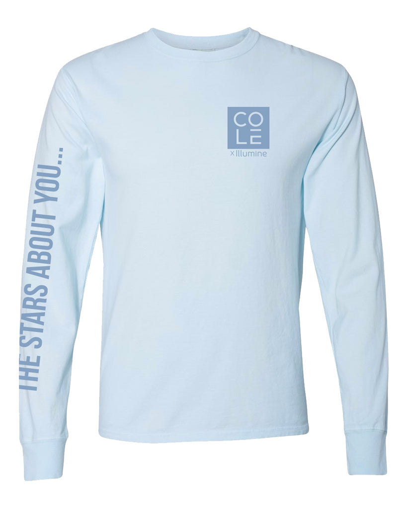 Cole Keep On Telling Long Sleeve - Soothing Blue