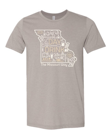 The Missouri Way Tee - Heather Stone