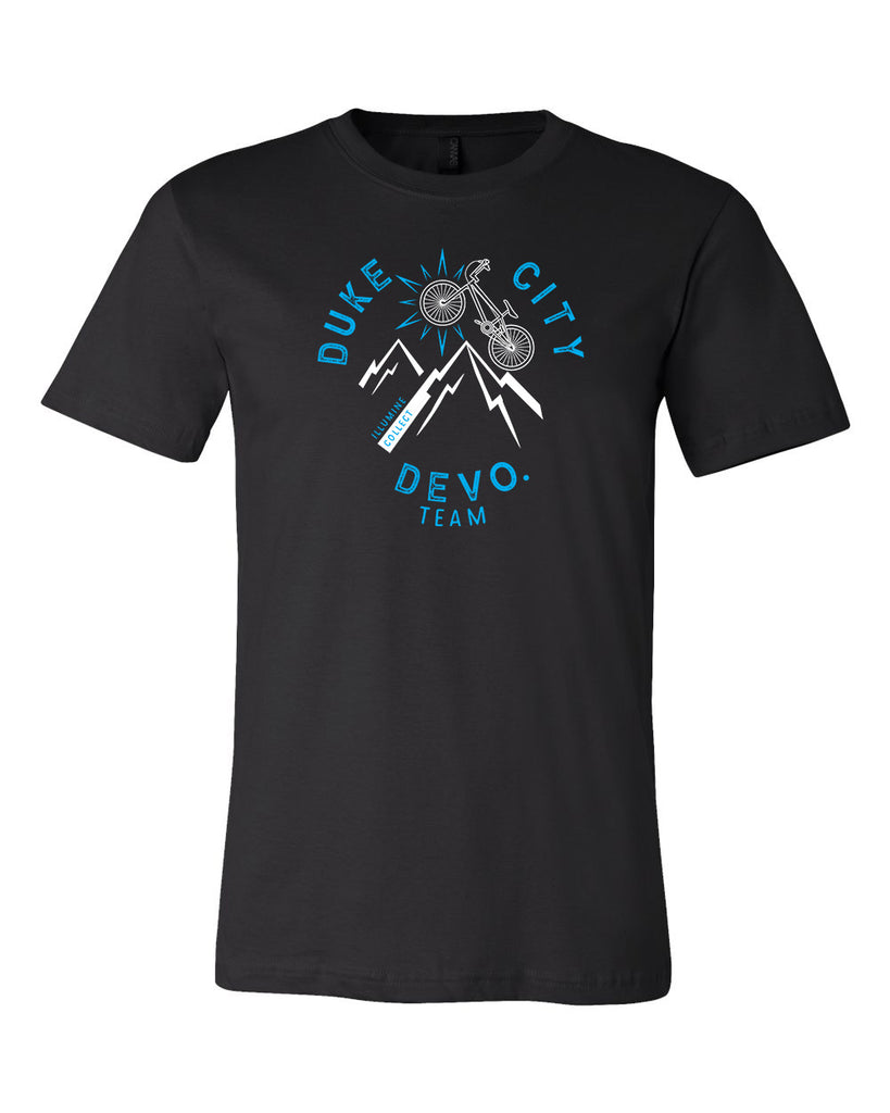 Duke City Devo. BMX Tee - Black