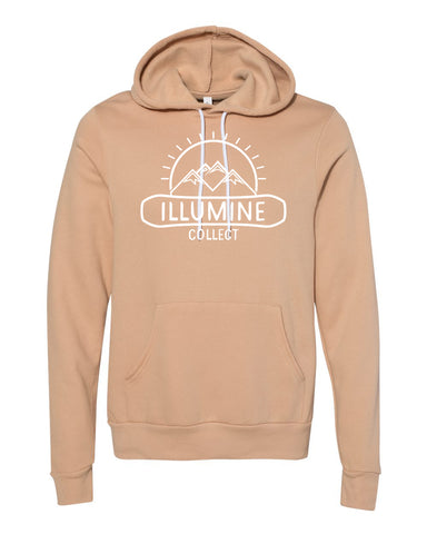 McDermott Logo Hoodie - Heather Sand Dune