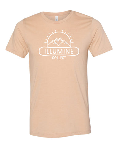 McDermott Logo Tee - Heather Sand Dune