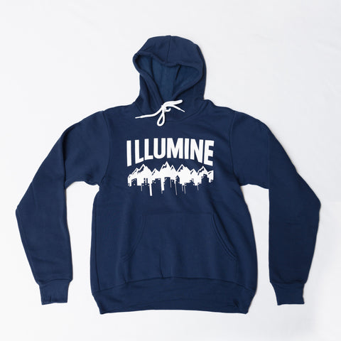 Cityscape Hoodie - Navy