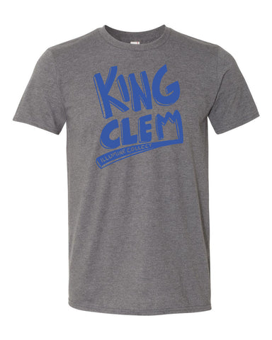 King Clem Tee - Deep Heather