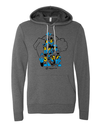 We Are SGF Hoodie - Deep Heather