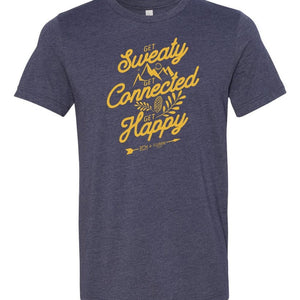 Get Sweaty, Connect, Happy