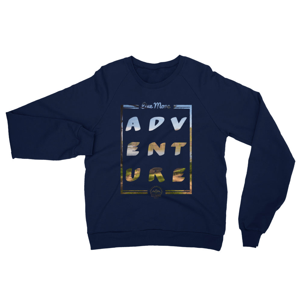 Live More Adventure Sweatshirt - Navy