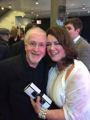 Mairi with Patrick Doyle
