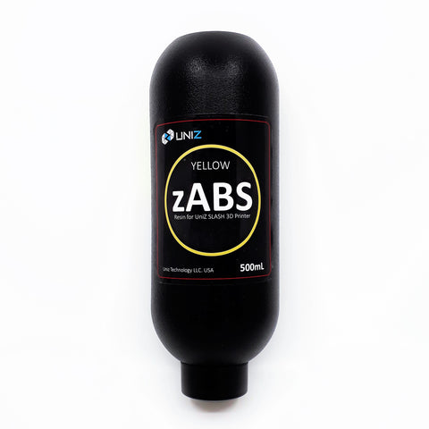 Uniz3D - zABS - Jaune (Yellow) - 500 ml