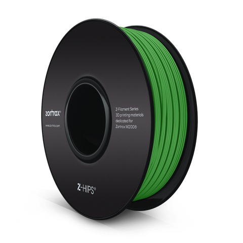 Z-HIPS VERT ( Green ) - 1,75mm - 800gr, Filament, ZORTRAX
