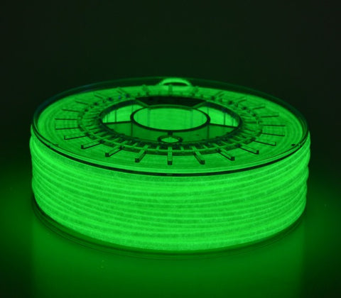 Octofiber - PLA - Phosphorescent (Glowing Green) - 1.75 mm - 750 g, Filament, Octofiber
