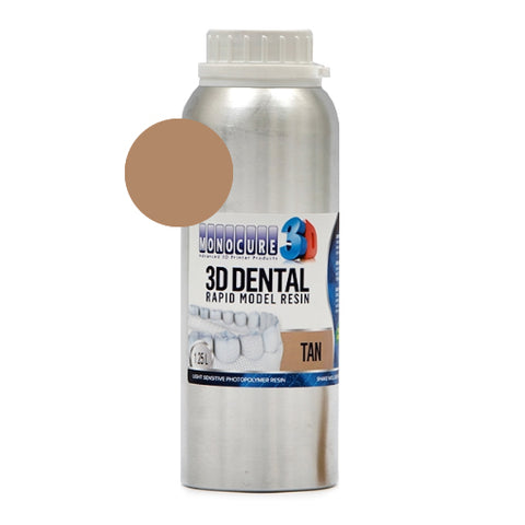 Monocure3D - Rapid Model Dental Resin - Tan - 1,25L, resines UV, Monocure3D