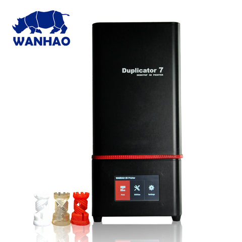 "Wanhao Duplicator 7 Plus  ""RED"" Ultra Hi-Res DLP 405nm (Tarif Exclu Web)"