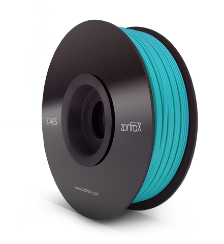 Z-ABS BLEU SKY ( Sky Blue ) - 1,75mm - 800gr, Filament, ZORTRAX