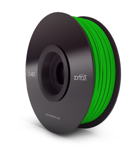 Z-ABS VERT ( Green ) - 1,75mm - 800gr, Filament, ZORTRAX