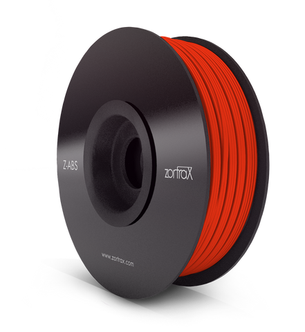Z-ABS ROUGE TOMATE ( Red ) - 1,75mm - 800gr, Filament, ZORTRAX