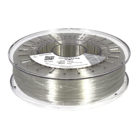 Filament Innovatefil Co-Polyester TEMP+ 1.75mm - Natural - 750g, Filament, SMART MATERIALS