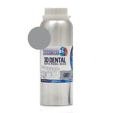 Monocure3D - Rapid Model Dental Resin - Grey - 1,25L, resines UV, Monocure3D
