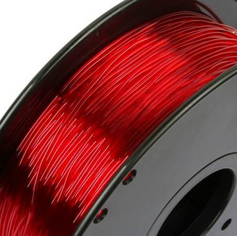 Filament TPU 1,75 Flexible Sainsmart Rouge (Red) 800gr, Filament, SAINSMART