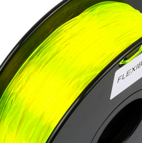 Filament TPU 1,75 Flexible Sainsmart Jaune (Yellow) 800gr, Filament, SAINSMART