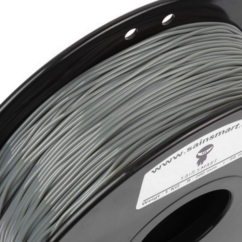 Filament TPU 1,75 Flexible Sainsmart Gris 800gr, Filament, SainSmart