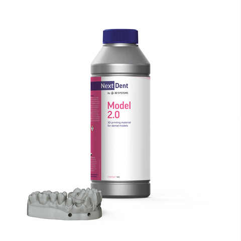 NextDent - Model 2.0 - Gris (Grey) - 1 L, Resines UV, NextDent