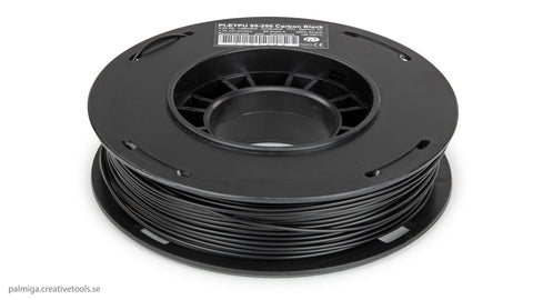 Filament TPU Carbon 1,75 Flexible Palmiga Noir (Black) 250gr PI-ETPU 95A, Filament, Filament Improve3D