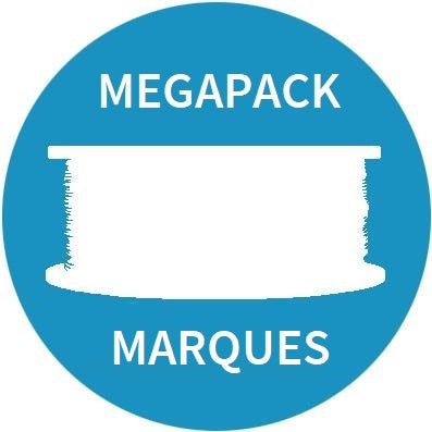 MegaPack Promo Bobines Neuves de Marques, Filament, Improve3D