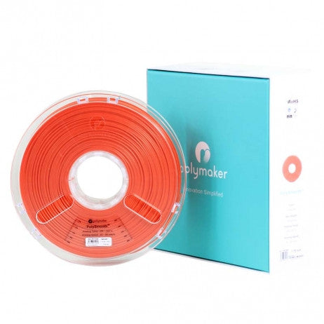 Polymaker - PolySmooth (PVB) - Rouge (Red) - 1.75 mm - 750 g, Filament, Polymaker