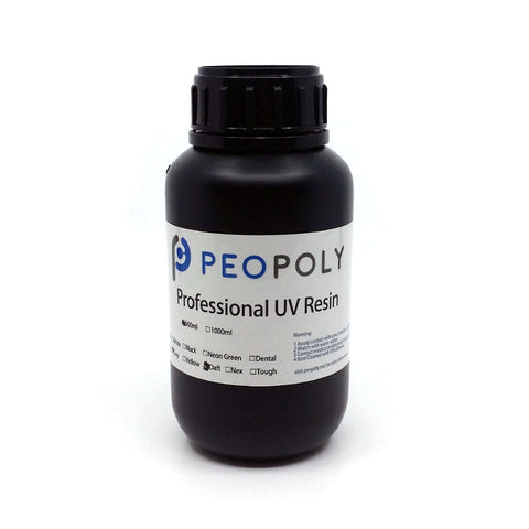 Peopoly - Phenom - Deft Resin - Gris (Grey) - 500 g