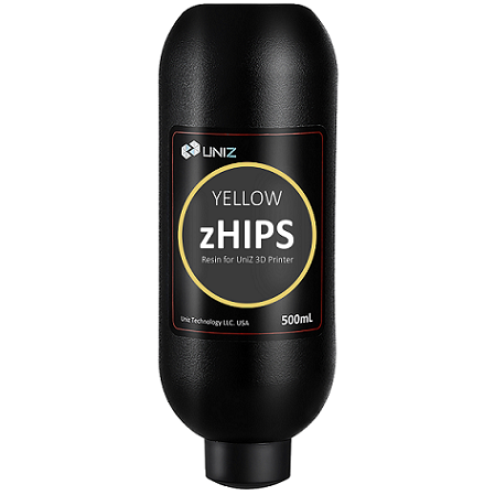 Uniz3D - zHIPS - Jaune (Yellow) - 500ml
