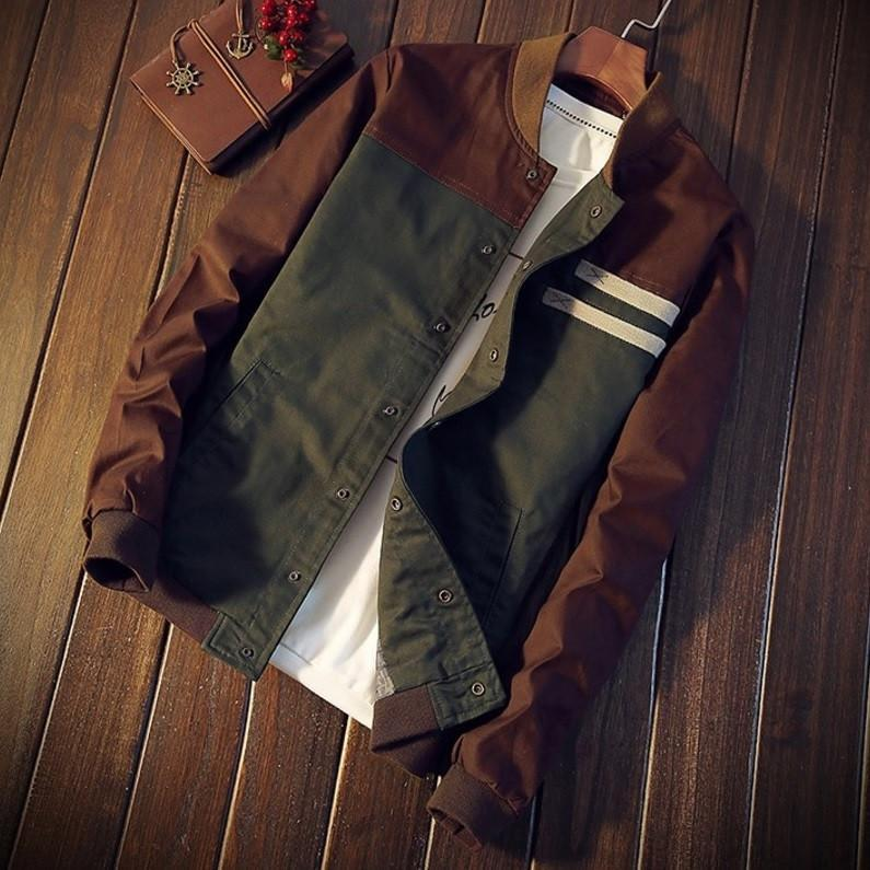 Vintage Classic Casual Light Jacket - Barber Clips