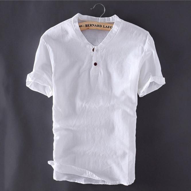 Summer Linen Shirt - Barber Clips