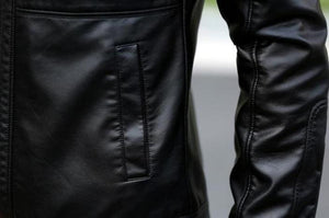 Contemporary Luxe Leather Jacket (2 Colors Available) - Barber Clips