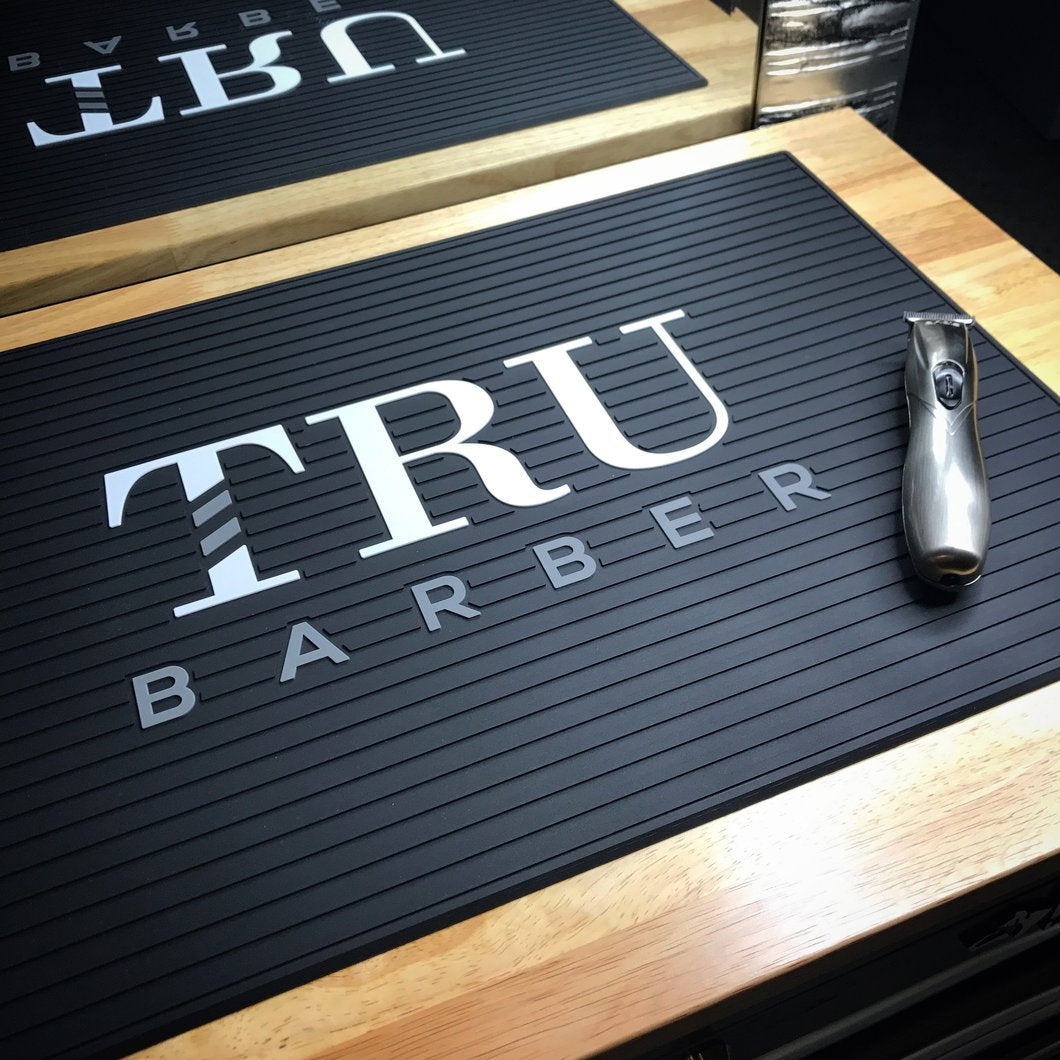 Tru Barber Mat - Colors Available - Barber Clips