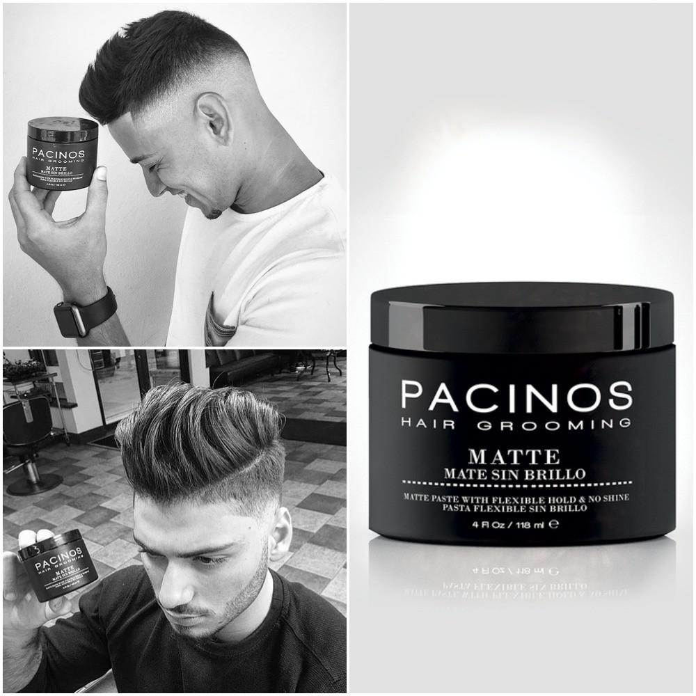 Pacinos Hairstyling Matte - #1 Selling Hair Product – Barber Clips