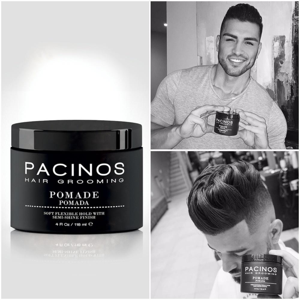 Pacinos Hairstyling Pomade - Barber Clips
