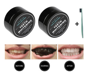 Charcoal Teeth Whitening Special (Buy 2 Get FREE Toothbrush) - Barber Clips