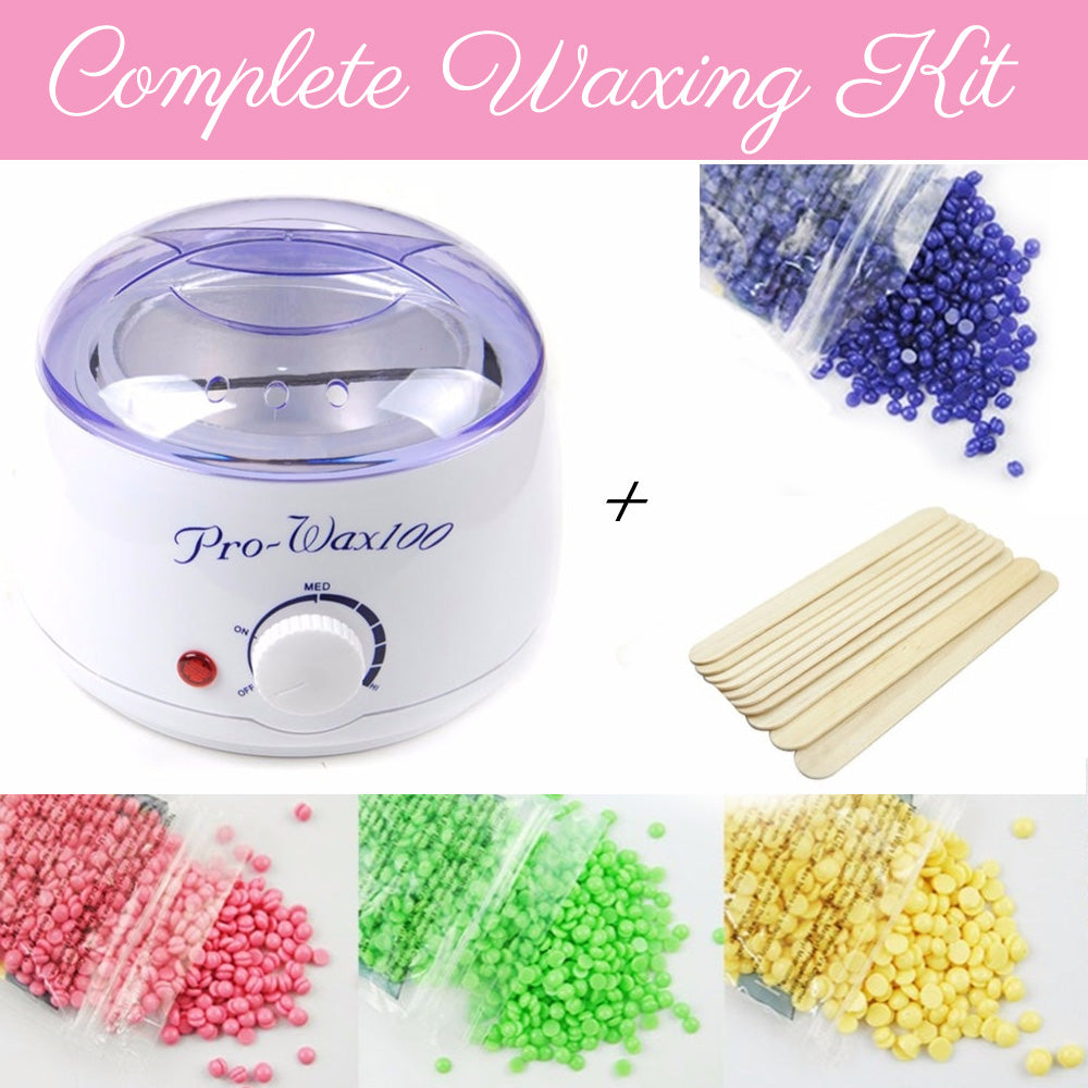 Professional Hair Removal Wax Kit Barber Clips