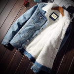 Denim Fleece Jacket (3 Colors Available) - Barber Clips
